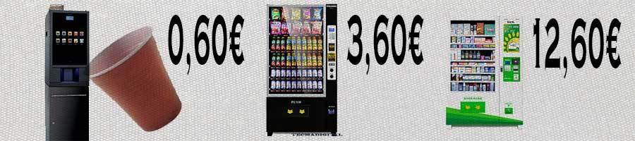 analisis de la rentabilidad que tienen las máquinas vending 24hoeas