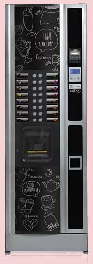 la mejor maquina vending de cafe y te