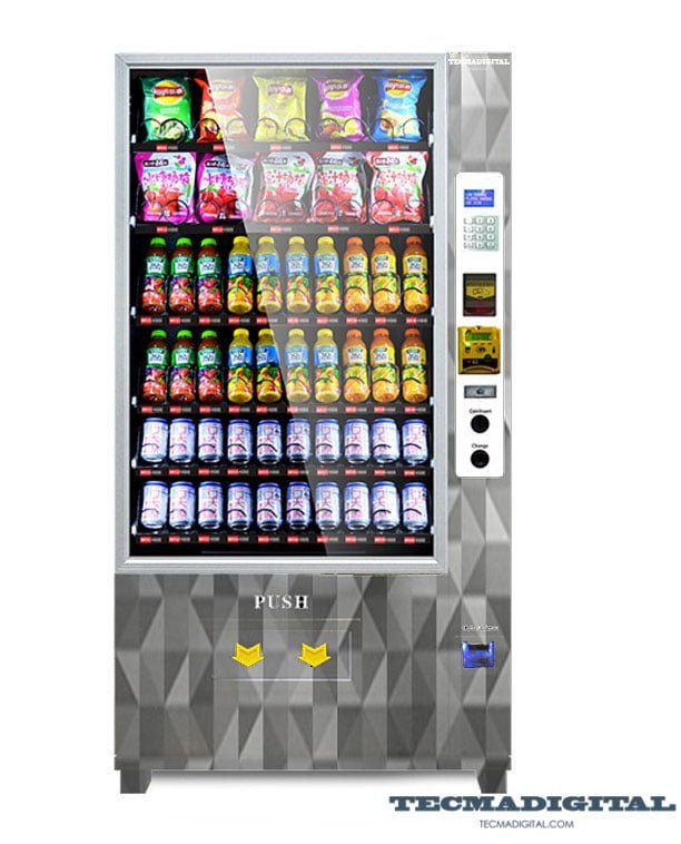 maquina vending snack personalizable TD-200
