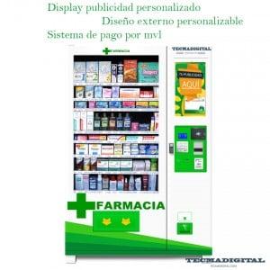 máquina expendedora para farmacia