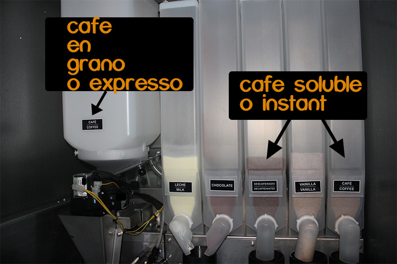 diferencias entre cafe en grano y cafe soluble