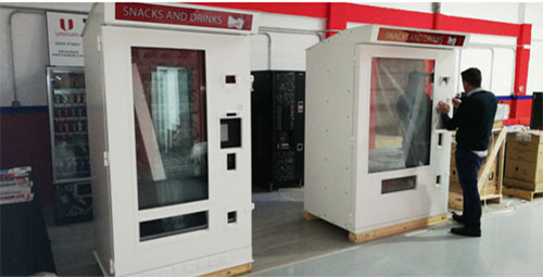 maquinas vending blindadas para el aire libre